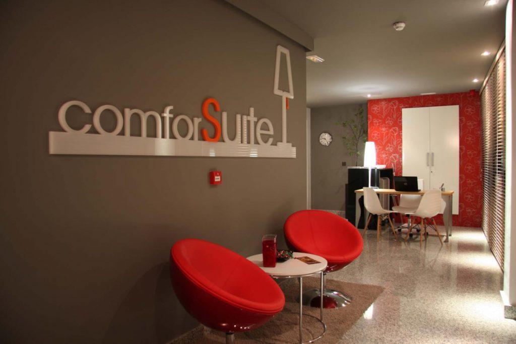 HOTEL COMFORSUITE BOECILLO VALLADOLID PROYECTO REFORMA INTERIORES CREATIVOS