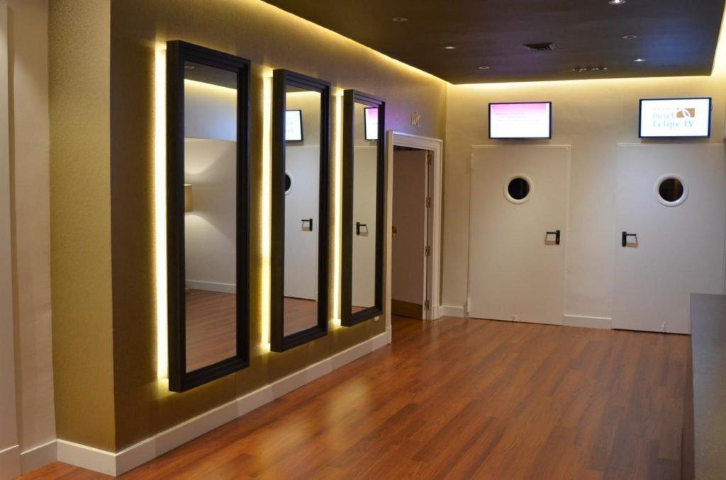 HOTEL FELIPE IV VALLADOLID PROYECTO DECORACIÓN INTERIORES CREATIVOS
