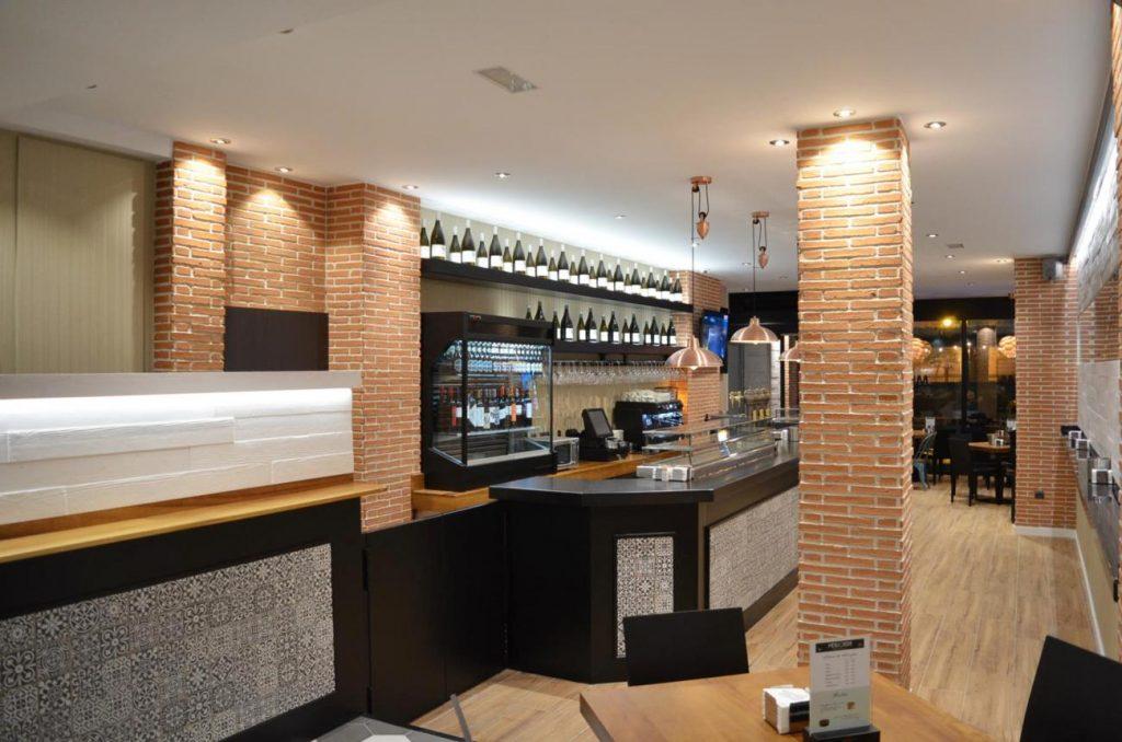 bar mejillonera medina del campo valladolid proyecto de reforma interiores creativos