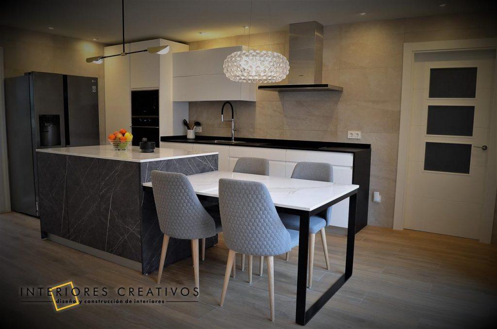 cabezon de pisuerga reforma cocina proyecto decoración interiores creativos