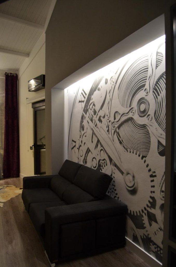 proyecto reforma salón comedor urb. la galera valladolid interiores creativos